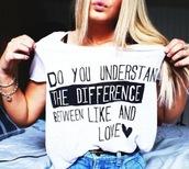 cute,love,girly,movies,blonde hair,jeans,t-shirt,clothes,shirt