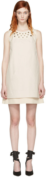 Fendi dress studded layered