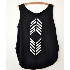 MARY MEYER ARROW CIRCLE TANK - Polyvore