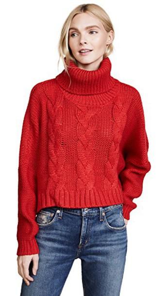 BB Dakota sweater red