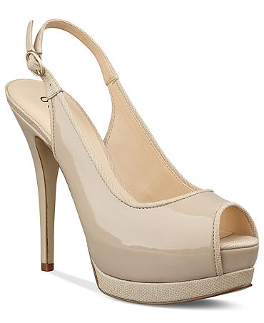 INC International Concepts Womens Shoes, Reesie Evening Sandals - INC International Concepts - Shoes