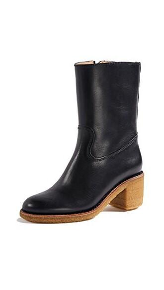 heel dark navy shoes