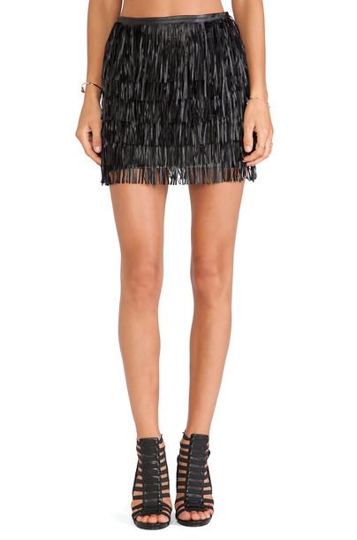 WYLDR skirt mini skirt mini black