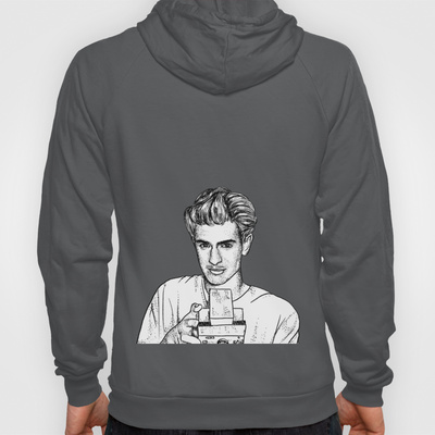 Andrew Garfield Hoody by Sharin Yofitasari | Society6