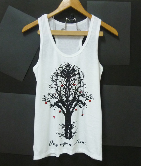 tank top singlet once upon a time tree tank top tree shirt whimsical tree women tshirt men tshirts sleeveless thin shirts