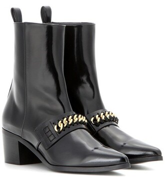 embellished boots ankle boots black shoes