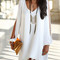 Chic shirt dress - blogger, date, prom, fashion, elegant, chic, tunic   awesome world - online store