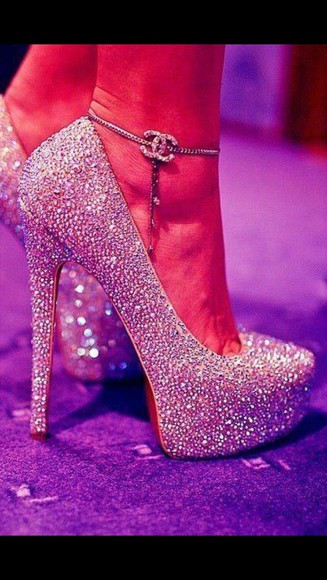sparkle glitter shoes white high heels glitter shoes