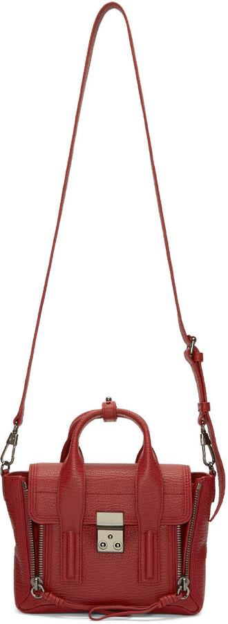 satchel mini red bag