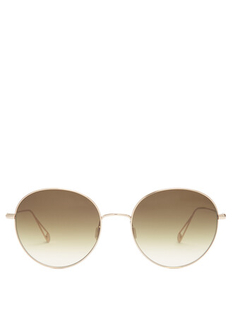 sunglasses gold