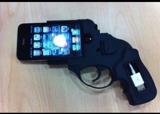 phone cover gun