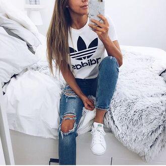 shirt adidas adidas fashion adidas top adidas originals shoes home accessory