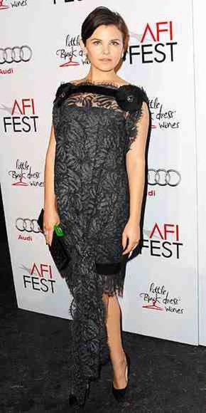 ginnifer goodwin dress black