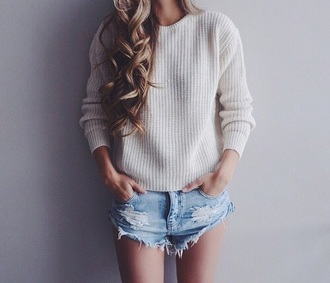 sweater no live love look like cool new girl newstyle fashion style uhm high heels ain't no wifey lace top shorts