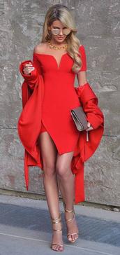dress,dream it wear it,clothes,red,red dress,bardot,off the shoulder,off the shoulder dress,short sleeve,short sleeve dress,asymmetrical,asymmetric dress,bodycon,bodycon dress,slit,slit dress,party dress,sexy party dresses,sexy,sexy dress,party outfits,summer dress,summer outfits,spring dress,spring outfits,fall dress,fall outfits,winter dress,classy dress,elegant dress,cocktail dress,cute dress,girly dress,date outfit,birthday dress,clubwear,club dress,homecoming,homecoming dress,wedding clothes,wedding guest,engagement party dress,graduation dress,prom,prom dress,short prom dress,red prom dress,romantic dress,romantic summer dress