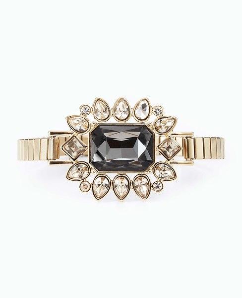Chandelier Starburst Watchband Bracelet | Ann Taylor