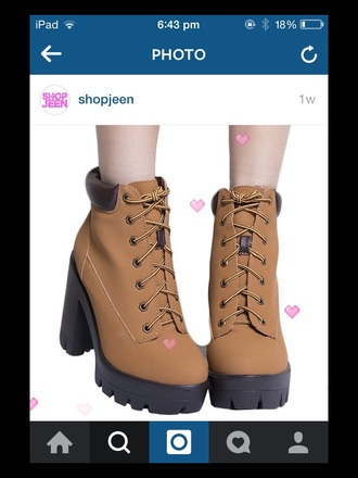 shoes heels platform shoes brown grunge kawaii grunge kawaii soft grunge alternative shoes kawaii shoes alternative
