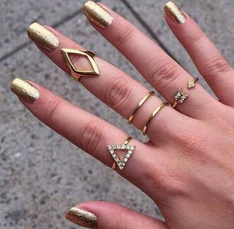 jewels ring knuckle ring boho coachella festival