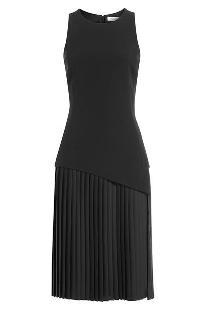 MUGLER skirt pleated skirt pleated black