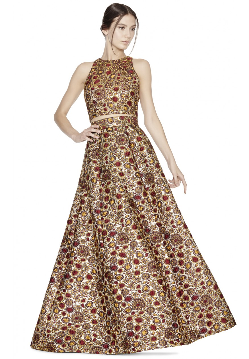 alice olivia | TERILYN BELL SHAPED BALL GOWN SKIRT