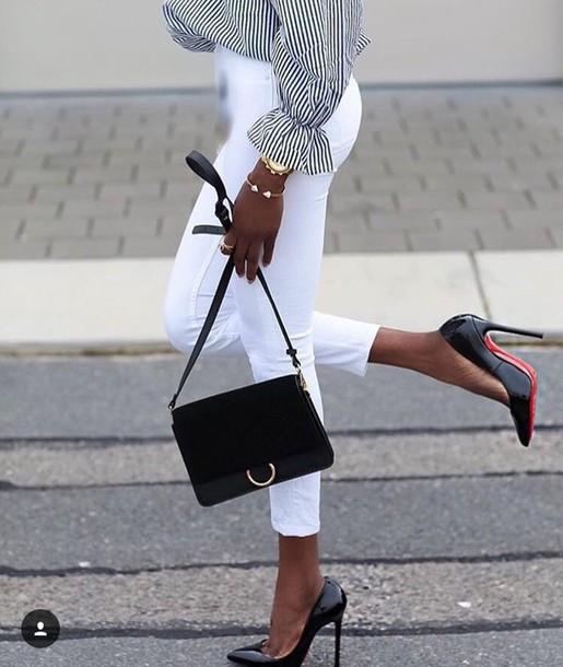 shoes pumps high heel pumps black heels