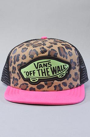 73d491eaa15 Vans The Jesse Jo for Vans Cheetah Trucker Hat   Karmaloop.com ...