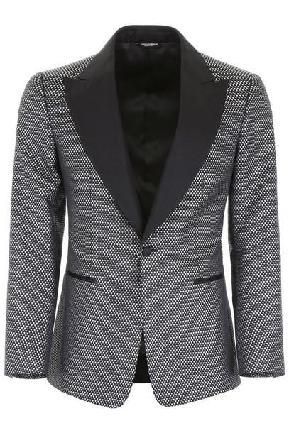 Dolce & Gabbana Jacquard Tuxedo Jacket