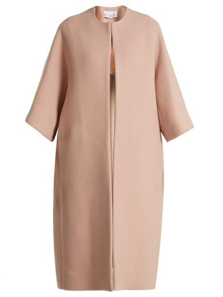 Raey coat wool pink