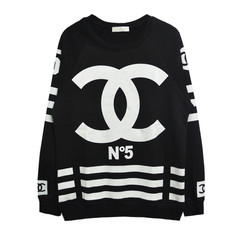 Chanelesque coco homme femme jersey sweater