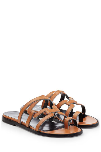 sandals leather sandals leather camel shoes