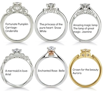 jewels ring disney princess disney princess