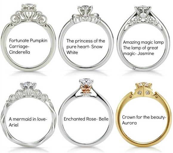 jewels disney disney princess ring princesses