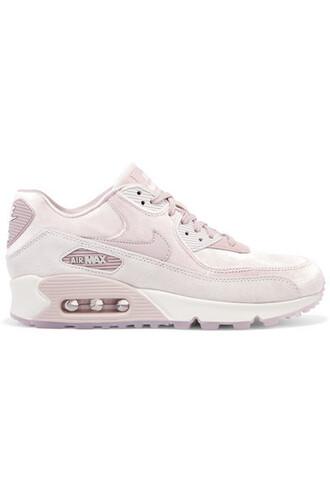 suede sneakers sneakers suede velvet blush shoes