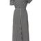 Off-the-shoulder gingham midi dress | moda operandi