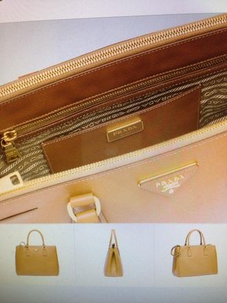 bag double zip big handbag back to school brown leather