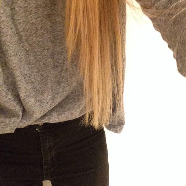 jeans taille haute noir black