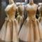 Golden show body elegant dress handmade