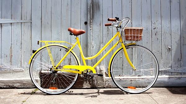 top bike hipster bike lemongrass