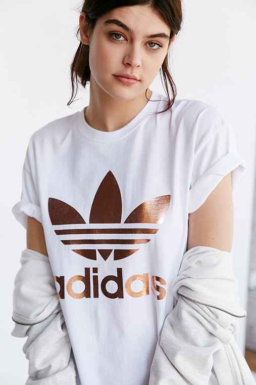 Logo Outfitters Urban Rose Tee Adidas Double Originals Gold XuPikZO