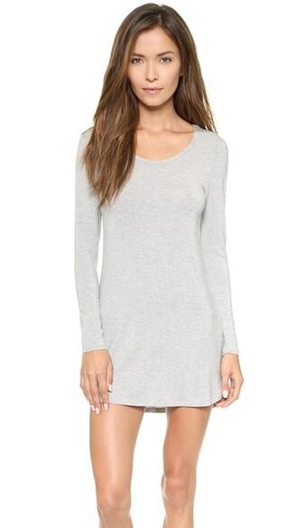 long grey charcoal heather grey underwear
