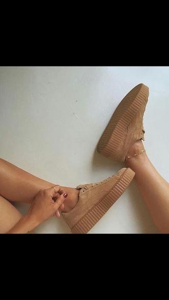 shoes nude sneakers low top sneakers