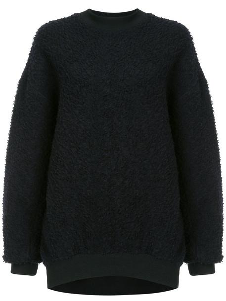 Roarguns sweatshirt women cotton black sweater