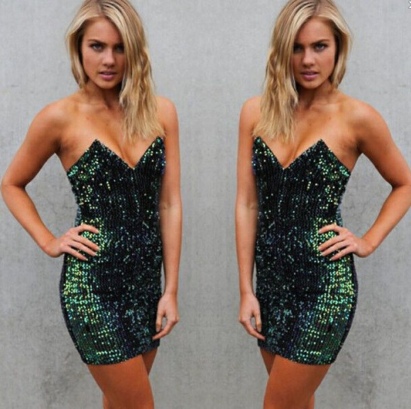 Bridgette sequin dress