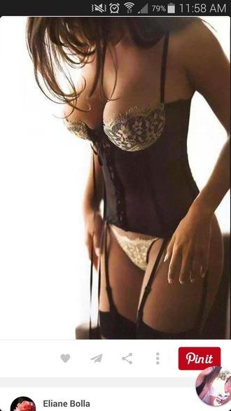 t-shirt lingerie corset top sexy bra intamates underwear