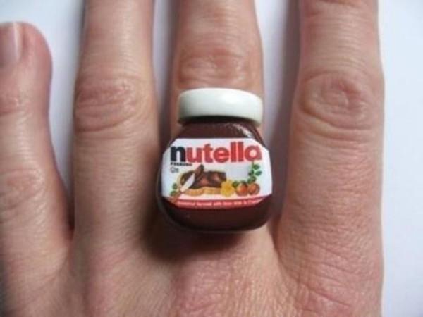 jewels ring food nutella