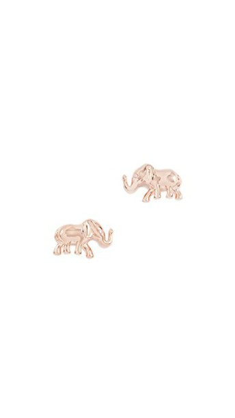 Kate Spade New York elephant earrings stud earrings rose gold rose gold jewels