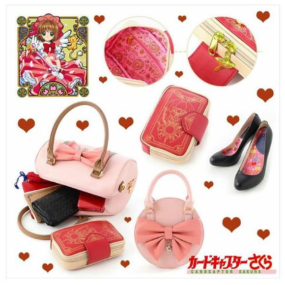 bag pink bag sakura cardcaptor anime