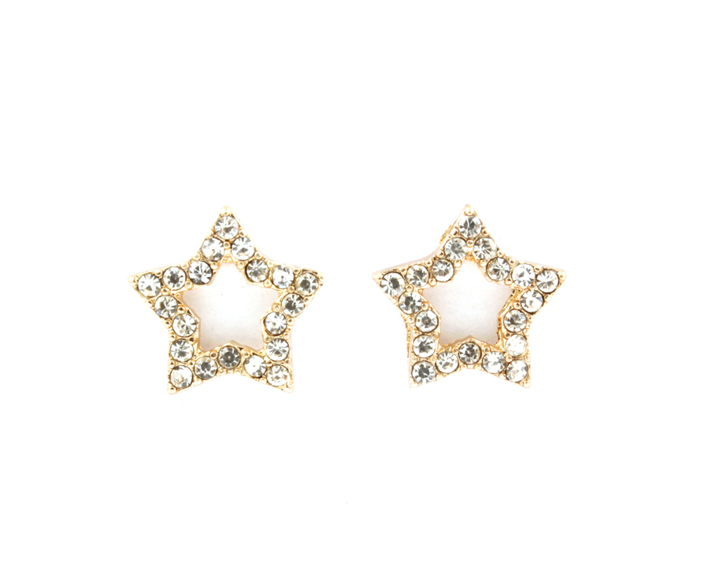 Starsearch Crystal Stud Earrings