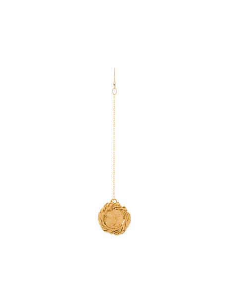 ALIGHIERI women earrings gold yellow orange bronze jewels