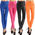 Trendy High Waist Solid Color Slim Fit Leggings For Women - $9.94